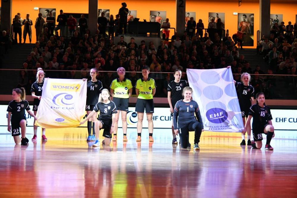 SKC győzelem a EHF-kupa elődöntőjének első mérkőzésén