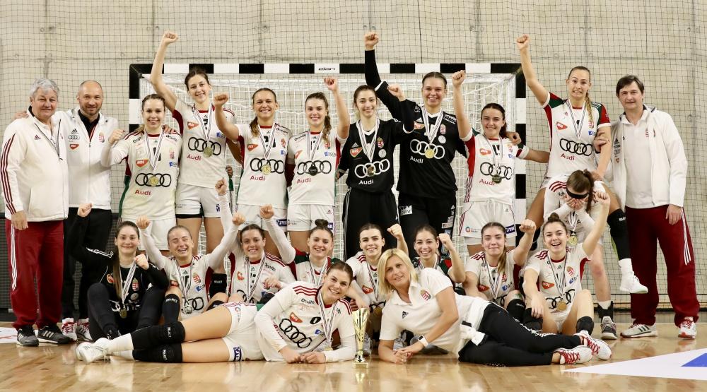 Női junior Négy nemzet-torna: tornagyőztes a magyar válogatott