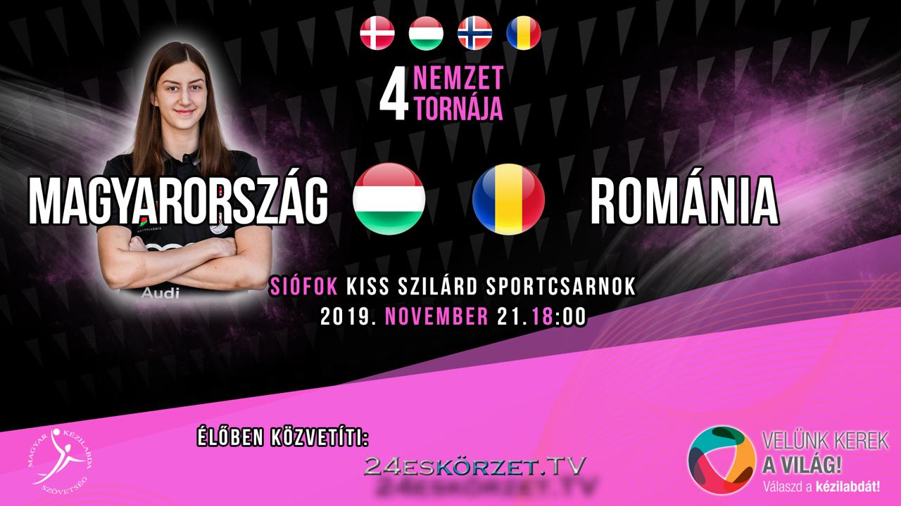 Négy Nemzet Torna a Kiss Szilárd Sportcsarnokban